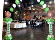 קשת בייבי בצבעי ירוק לבן