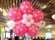 מרכז שולחן פרח הלבבות