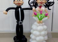 קבלו את החתן והכלה במחיאות כפיים!